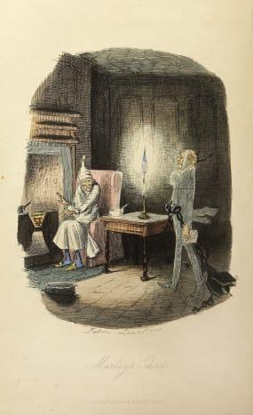 Ebenezer Scrooge—A Visit By Jacob Marley