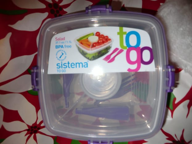 For coworkers, handy to go containers for lunches that are BPA free are a practical touch and under $8.