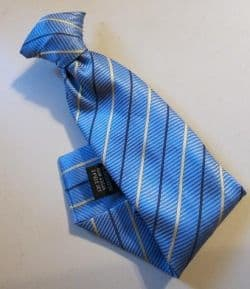 Clip-on ties work great for nerd costumes because you don't have to struggle to put them on correctly.