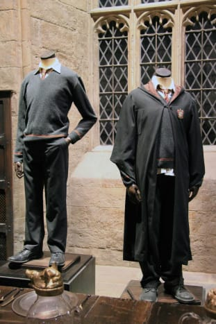 Official Gryffindor boys' uniforms.