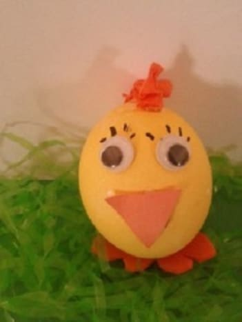 Easter Chick Egg