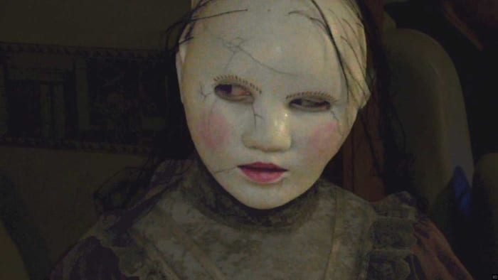 The masked figure in the movie The Houses October Built 2009 is a perfect match romantically for BabyFace