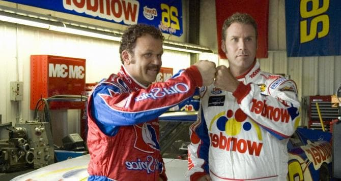 Talladega Nights: The Ballad of Ricky Bobby.