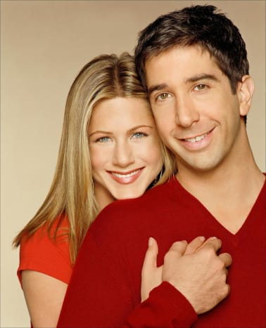 Jennifer Aniston & David Schwimmer.