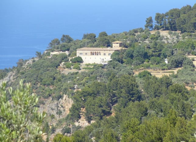 Distant view of Son Marroig