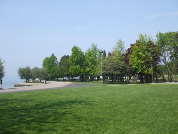 A peaceful park