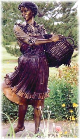 Sculpture we viewed in Benson Park