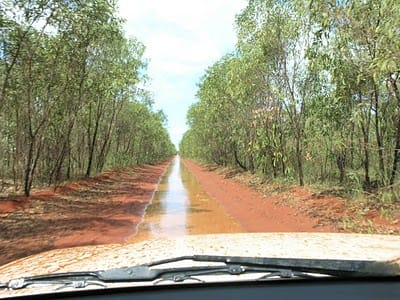 "The ""road"" to Cape Leveque"