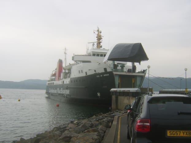 Boarding the Islay Ferry at Kennacraig