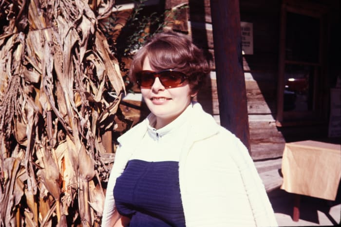 Fall photo of me in Gatlinburg, Tennessee, 1971