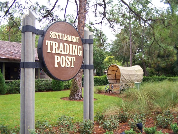 Fort Wilderness Trading Post: a convenient place to stop by for supplies.