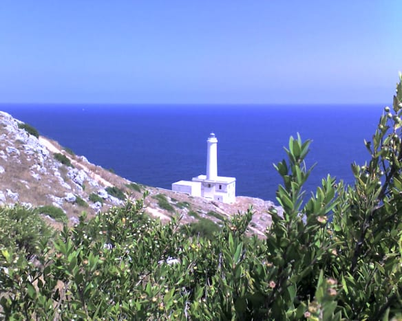 The Lighthouse at Otranto is at the most easterly point of Italy and a favorite spot to see sunrise and celebrations such as New Year.