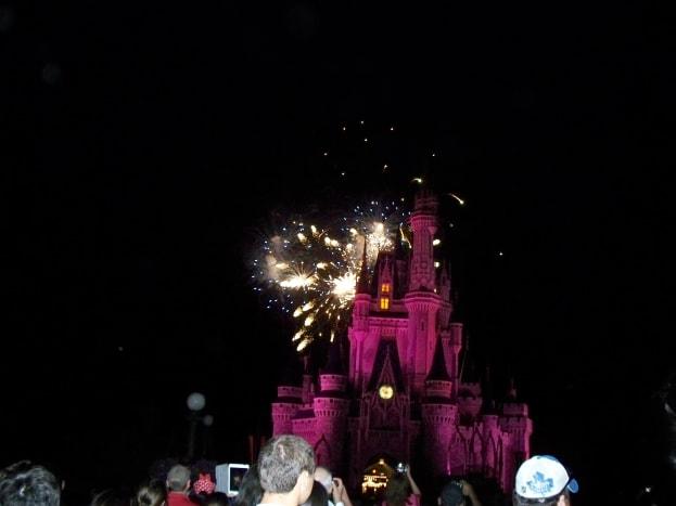 Magic Kingdom's WIshes Nighttime Spectacular Fireworks Show