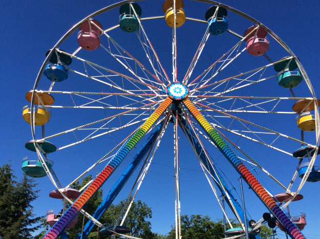 A Ferris wheel at Playland