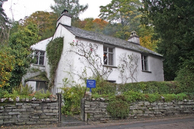 Dove Cottage, Grasmere The house is now owned by the Wordsworth Trust. The house, museum and garden are open to the public from the 1st March to the 31st October