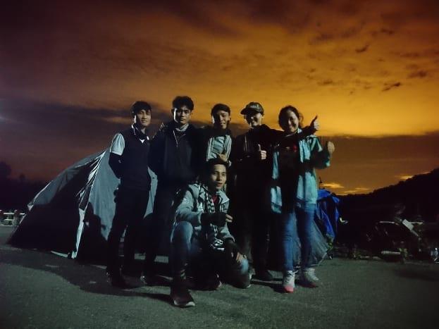 My friends and I camped for a night at Da Mi Hydropower Dam.