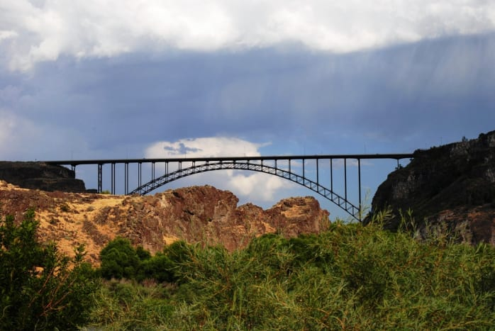 Perrine Bridge over the Snake River - Twin Falls, Idaho