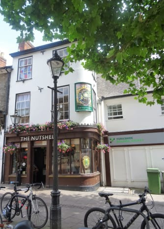 The smallest pub in Britain. One of the town's biggest attractions. A not-to-be-missed watering place with many curiosities on display.