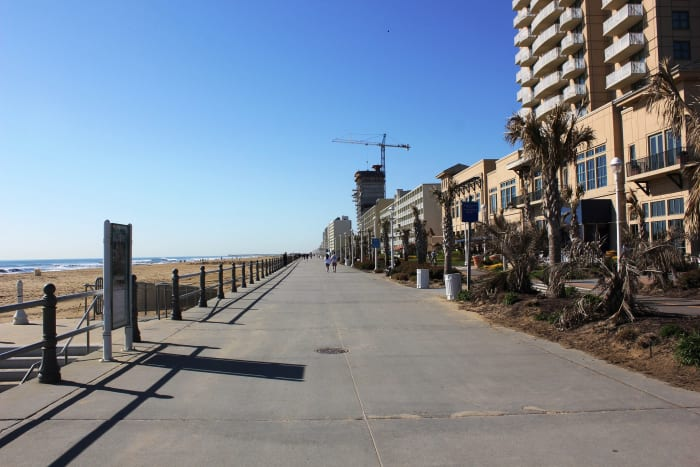 Virginia Beach Boardwalk and Beachfront