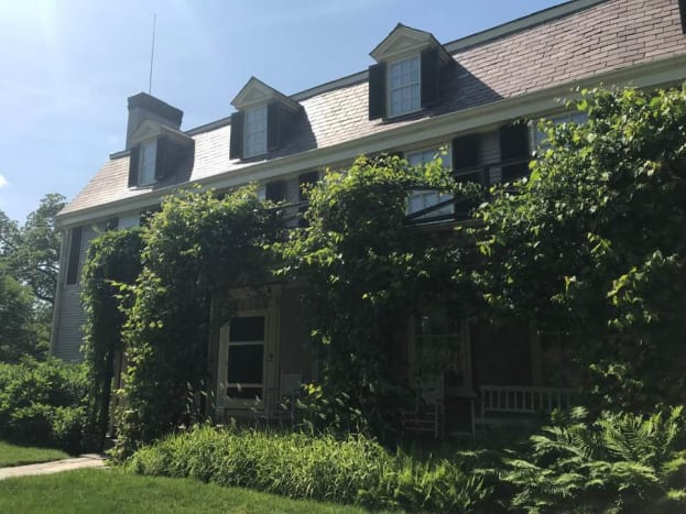 The Old House at Peacefield