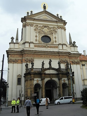 St. Ignatius Church, Prague New Town.