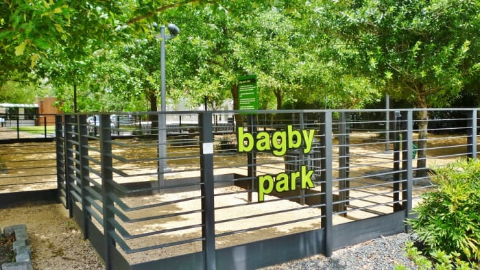 Dog Park within Bagby Park