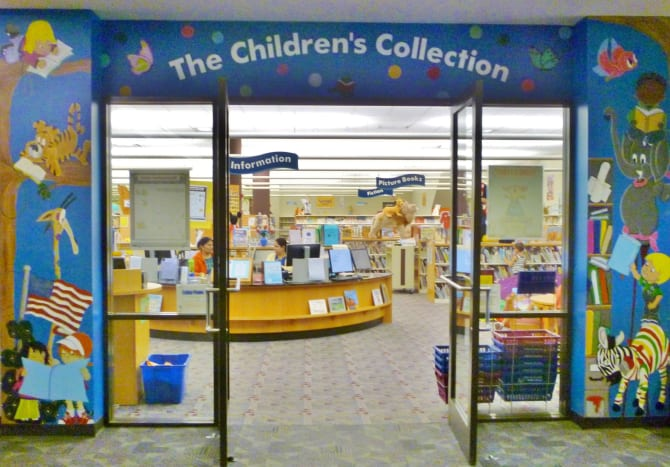 Barbara Bush Library Children's Section