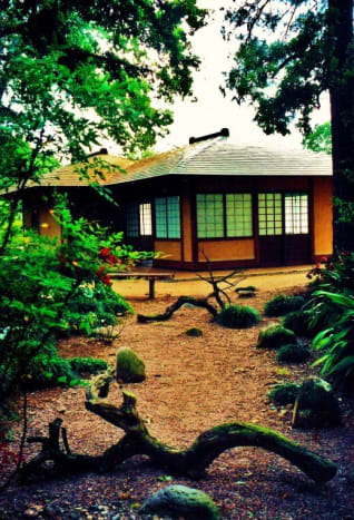 Japanese Garden in Hermann Park