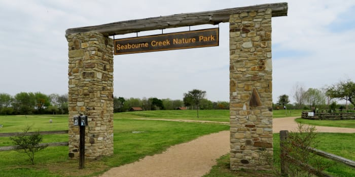 Seabourne Creek Nature Park Sign