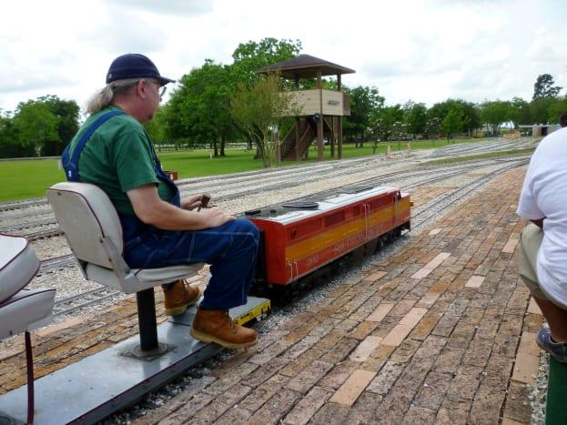 Miniature Train Ride at Zube Park