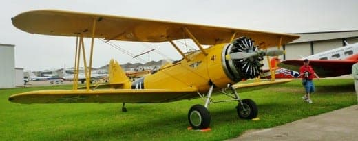 Plane at Commemorative Air Force Show