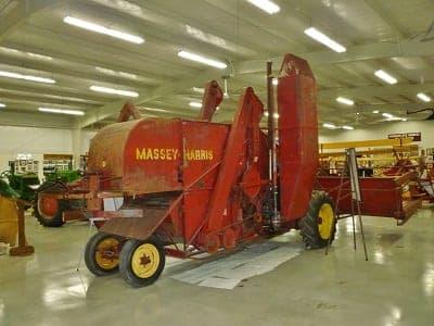 Massey-Harris Combine