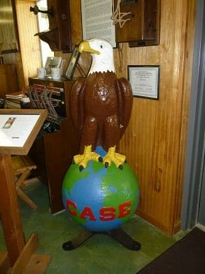 "The Eagle called ""Old Abe"" was the J.I. Case Co. trademark for 104 years."