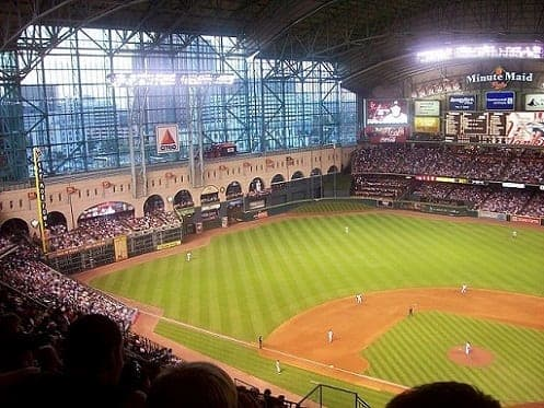 Minute Maid Park is home to the Houston Astros baseball team. This site is also used for such things as commencement exercises, rugby, soccer, music concerts, etc.