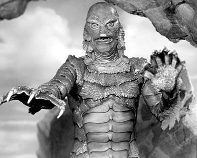 Gill-man from the Black Lagoon.