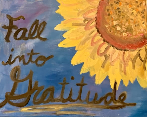 """""""Fall into Gratitude"""" (this photo is copyrighted and may not be shared without the express consent from Amanda Wilson)"""