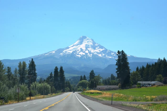 Mount Hood from the Mount Hood Scenic Byway