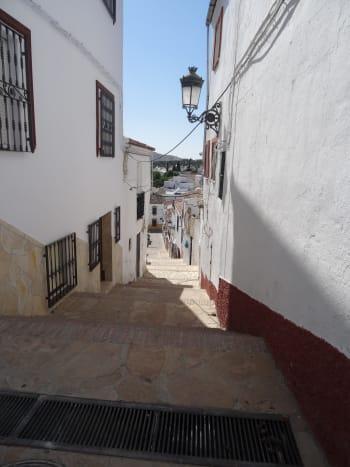 About Town in Olvera, a 'Pueblo Blanca.'