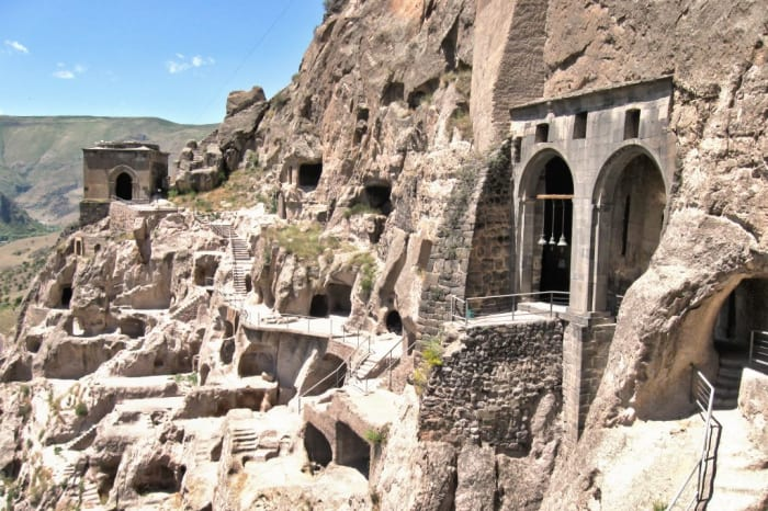 A Cave Monastery in Vardzia, Georgia