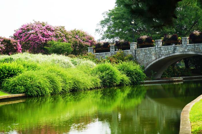 Beautiful Norfolk Botanical Gardens in Norfolk, VA