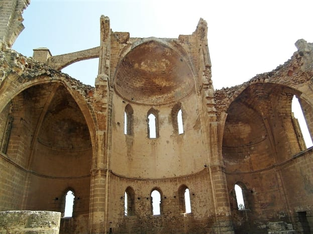 The Church of St. George of the Greeks, Famagusta.