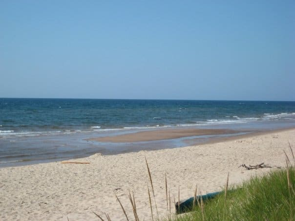 One of many beautiful beaches in PEI