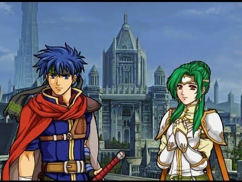 Ike and Elincia
