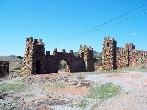 Oklahoma's Jerusalem: The Holy City of the Wichitas: Gates entering the Holy City of the Wichitas.