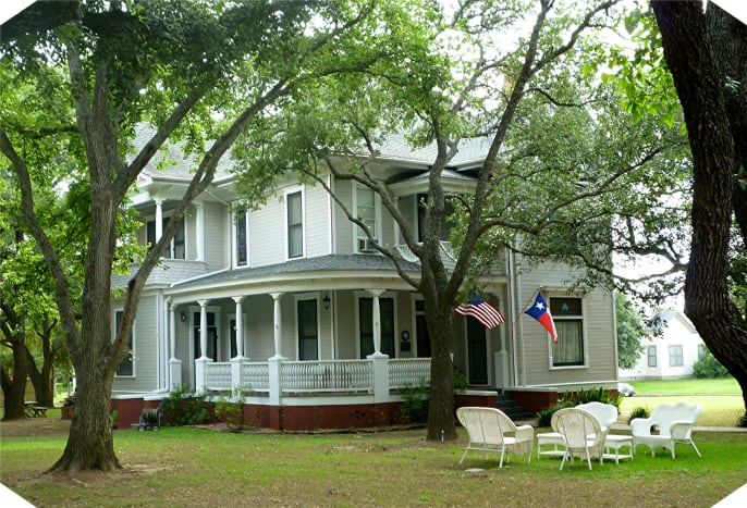 The Pin Oak Bed and Breakfast in Calvert, Texas