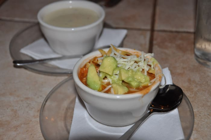 Chicken Tortilla Soup from the Huisache Grill