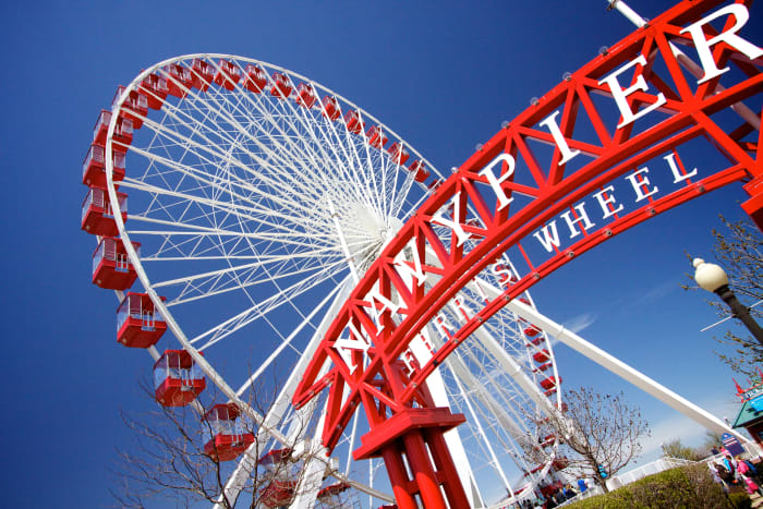 Centennial Wheel at Navy Pier in Chicago