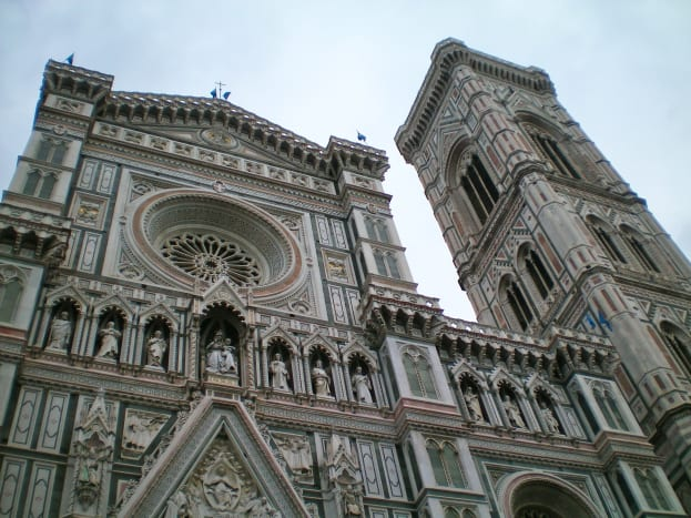 The Duomo, Florence, completed before Michelangelo's birth