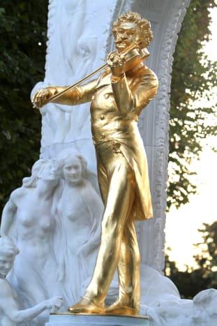 Johann Strauss Monument in Stadtpark