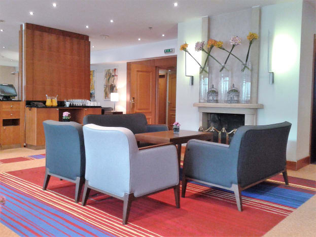 The executive lounge